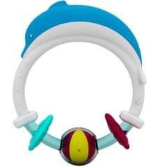 Giggles Dolphin Teether Rattle