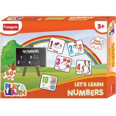 Funskool Play&Learn Let's Learn Numbers Puzzle