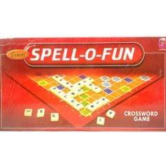 CJ Junior Spell-O-Fun, Crossword Game