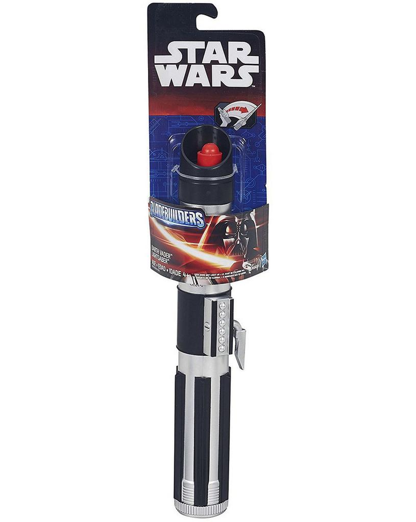 Star Wars Bladebuilders, Darth Vader Extendable Lightsaber, Red