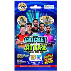 Topps Cricket Attax IPL CA 2017 Multi Pack, Multi Color