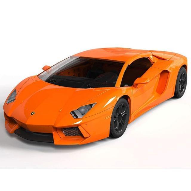 Airfix Quick Build Lamborghini Aventador LP 700-4 Car Model Kit, No. J6007