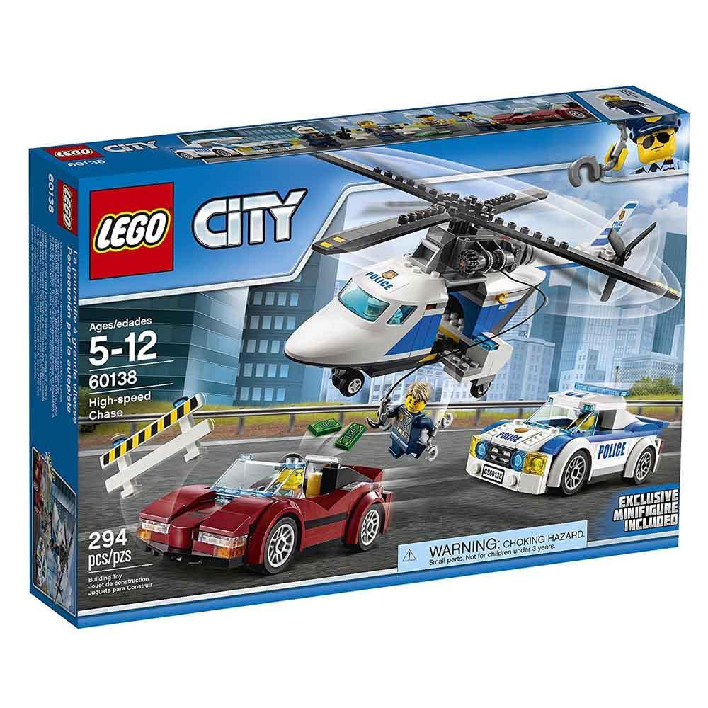Lego High Speed Chase 60138, Multi Color