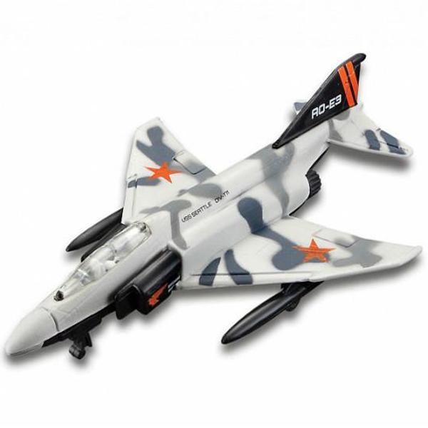 Maisto Fresh Metal Forces Sky Squad USS Seattle DIV-171 Fighter Jet, Die Cast Collectables