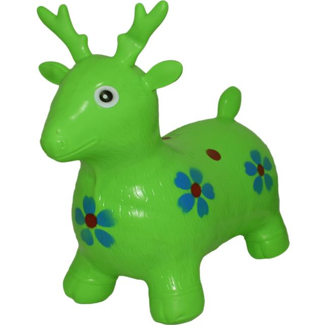Inflatable Deer Ride On for Kids, Multi Color