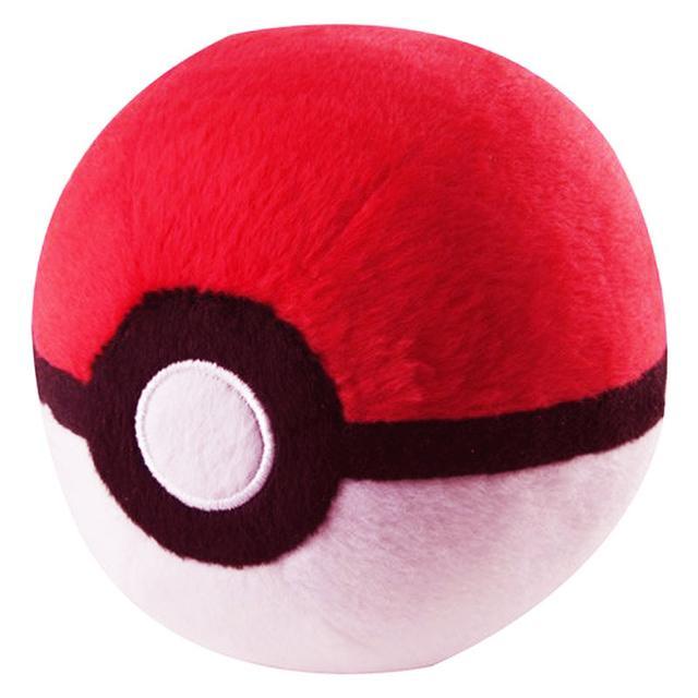 Pokemon Plush Master Pokeball, Red & White