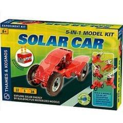 Thames & Kosmos Solar Car, 5-IN-1 Model Science Kit