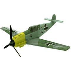 Airfix Quick Build Messerschmitt 109 Aircraft Model Kit, No. J6001, Multi Color