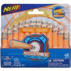 Nerf N Strike Elite Accustrike Series Darts, Pack of 24
