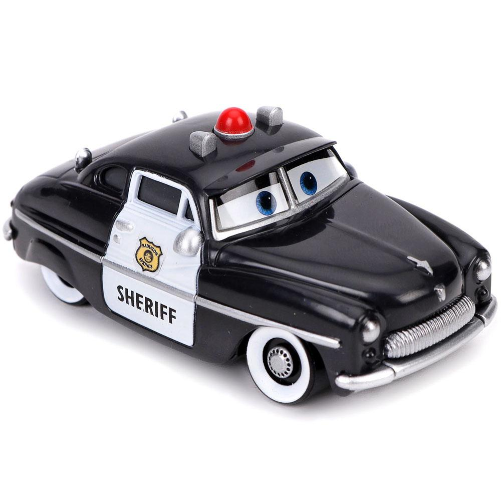 Disney Pixar Cars Sheriff, Small size Black