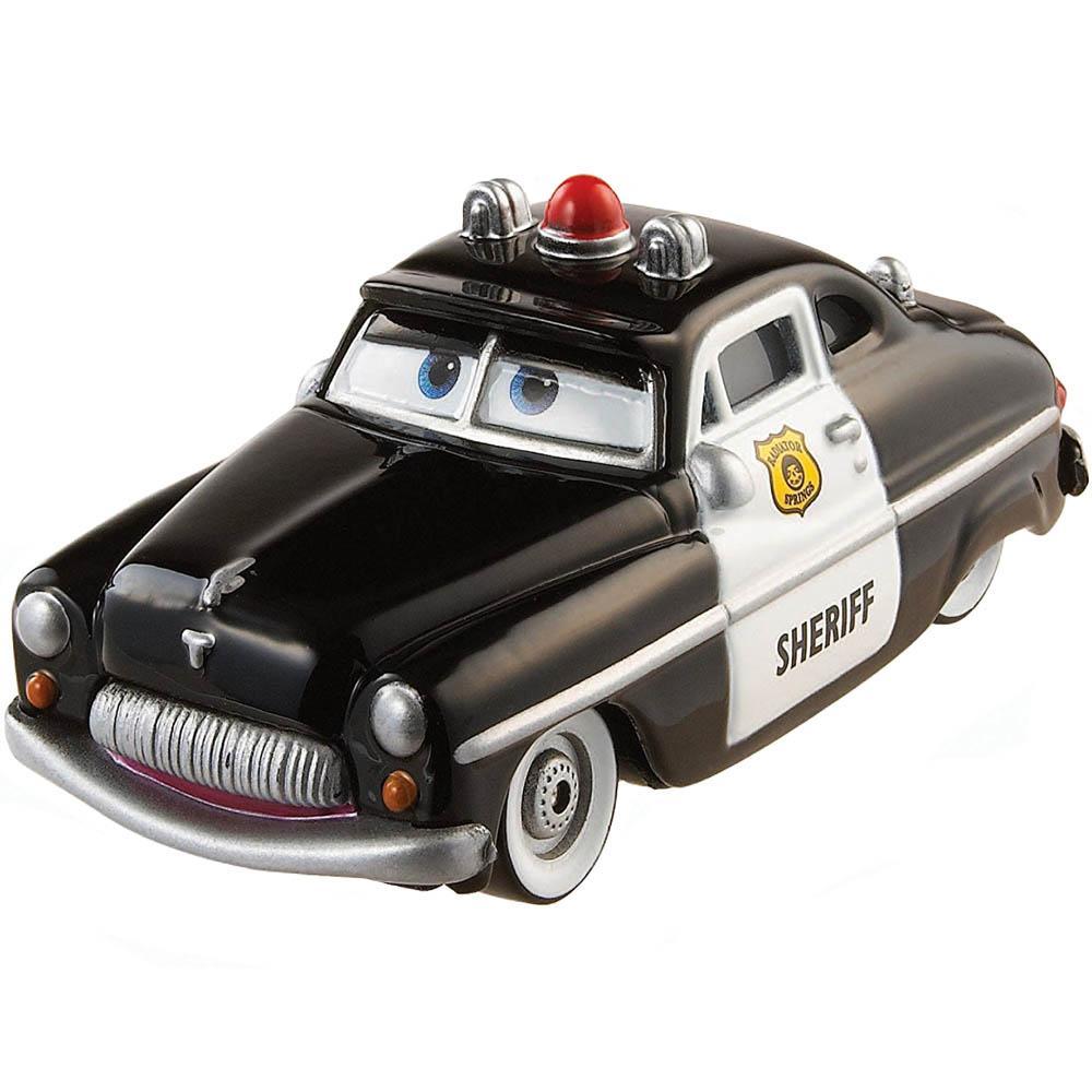 Disney Pixar Cars Radiator Springs Sheriff, Small size Black