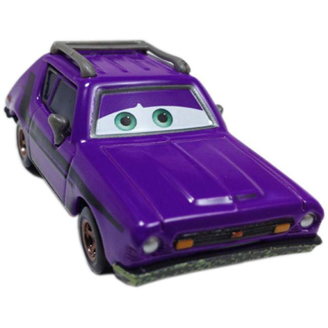 Disney Pixar Cars Don Crumlin, Small size Purple