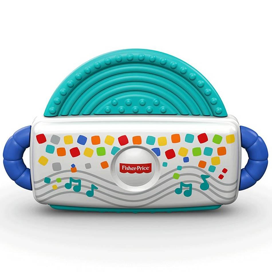 Fisher Price Harmonica Teether, Multi Color