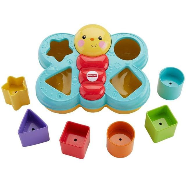 Fisher Price Butterfly Shape Sorter, Multi Color