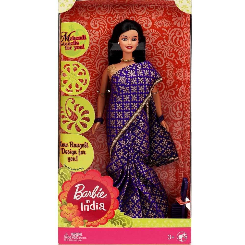 Barbie in India, Purple Sari