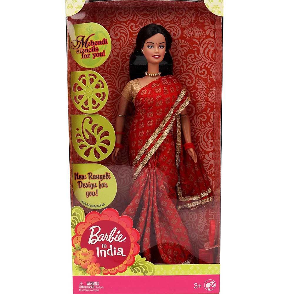 Barbie in India, Red Sari