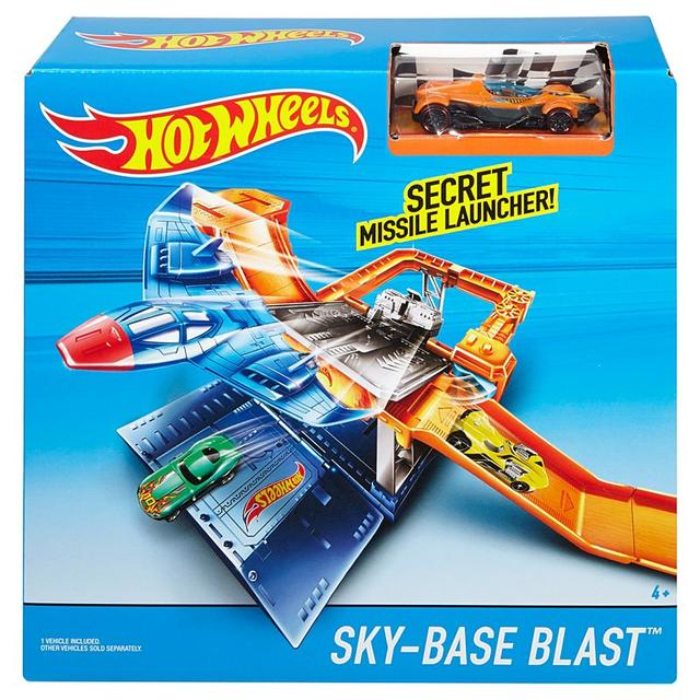 Hot Wheels Sky Base Blast Play Set, Multi Color
