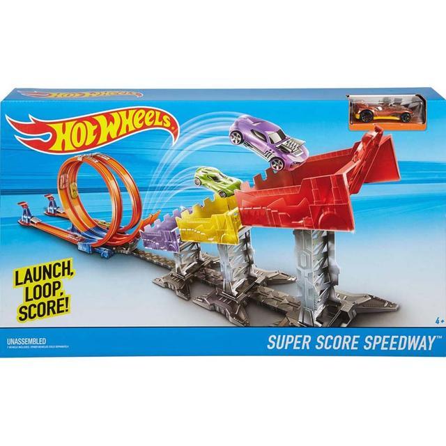 Hot Wheels Super Score Speed Way Track Set, Multi Color