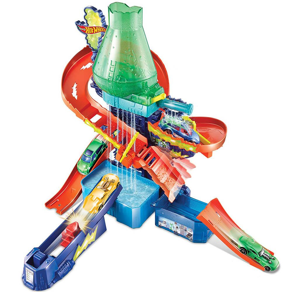 Hot Wheels Shifters Color Splash Science Lab Playset, Multi Color