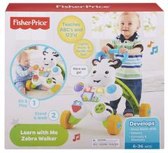 Fisher Price Learn With Me Zebra Baby Walker Multicolor
