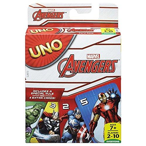 Uno Marvel Avengers Card Game Multi Color