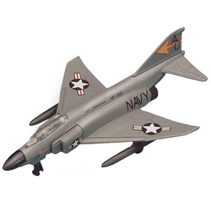 Maisto Tailwinds F-4 Phantom II Aeroplane Die Cast Model Grey Color