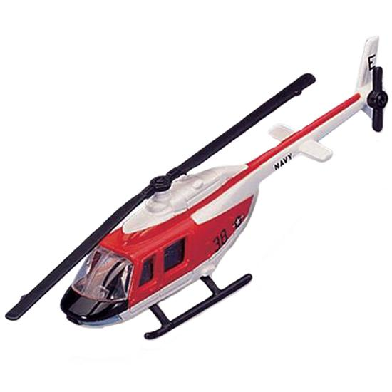 Maisto Tailwinds Bell TH-57 SeaRanger Diecast Model Helicopter