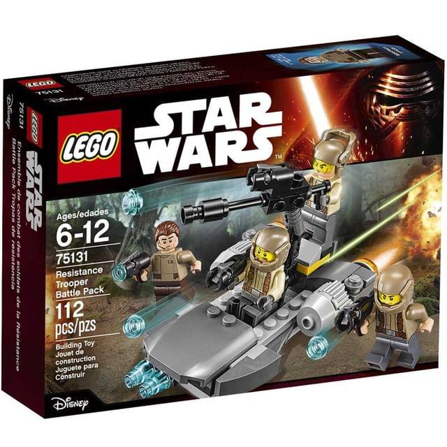 Lego Resistance Trooper Battle Pack, No 75131