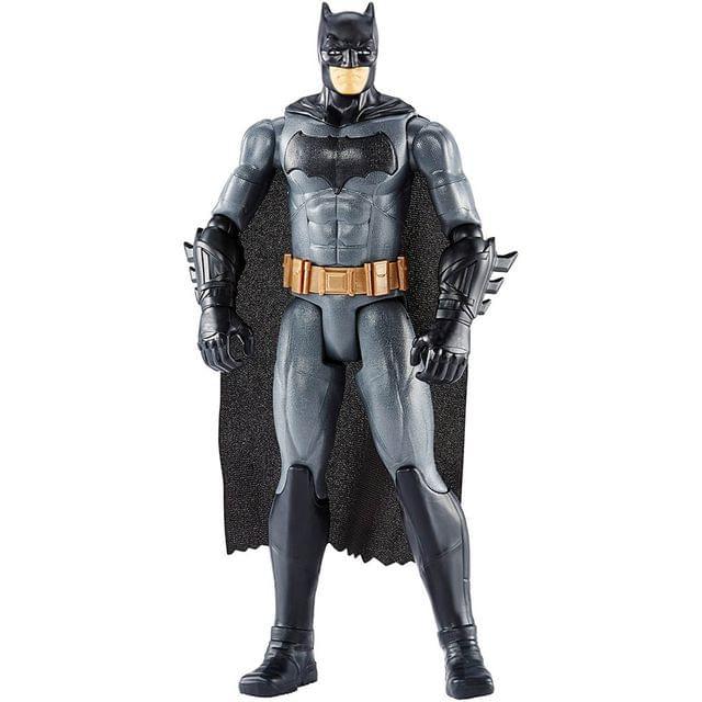 Justice League True-Moves Series Batman 12 Inch Action Figure, Multi Color