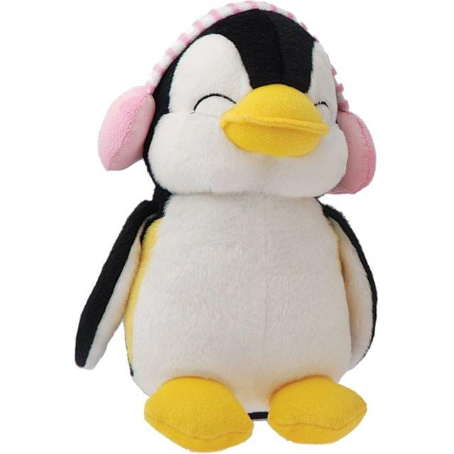 Dimpy Stuff Penguin With Muffler Stuff Toy Pink Color Theme