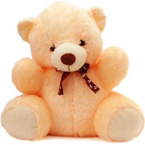 Dimpy Stuff Teddy Bear Stuff Toy Cream Color