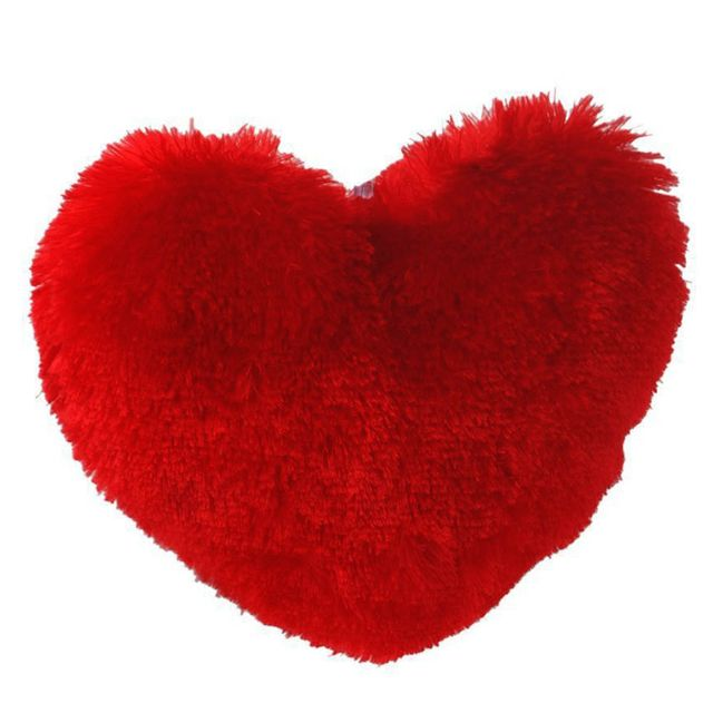Dimpy Stuff Heart Dark Red Color Large Size