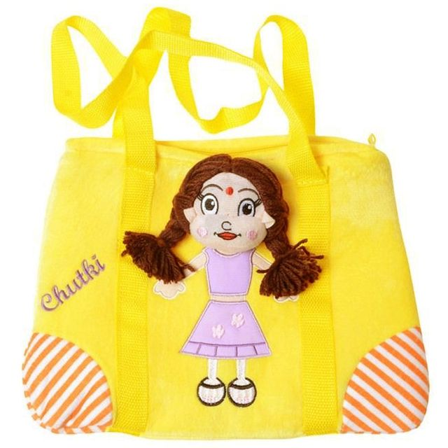 Dimpy Stuff Chutki Stuff Toy Picnic Bag  Multi Color