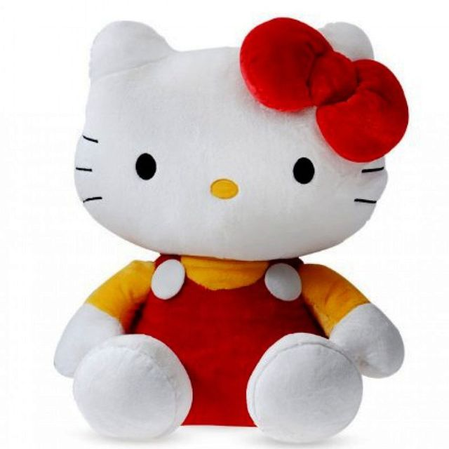 Dimpy Stuff Hello Kitty Stuff Toy 36Cm Red Color