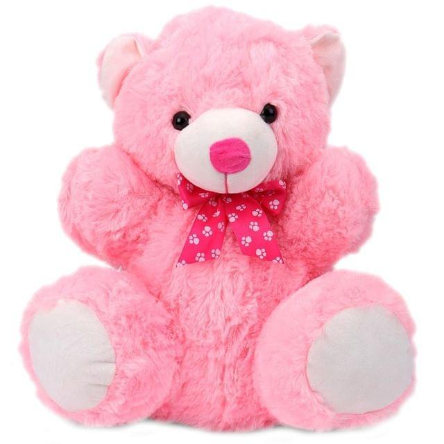 Dimpy Stuff Teddy Bear Stuff Toy Pink Color