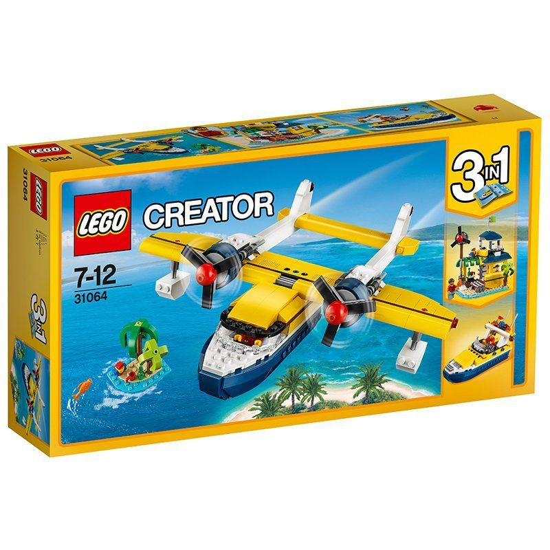 Lego Creator Island Adventures 3 In 1, No 31064 Multi Color