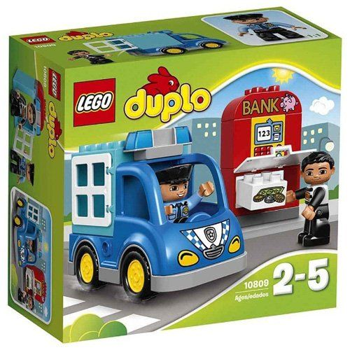Lego Duplo Police Petrol No 10809 Multi Color