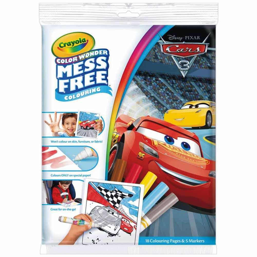 Crayola Color Wonder Mess Free Disney Cars 3 Coloring Book