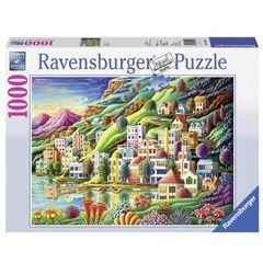 Ravensburger Puzzles Dream City 1000 pieces Multi Color
