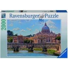Ravensburger Puzzles The Bridge of Angels Rome 2000 Pieces Multi Color