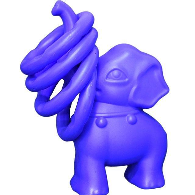 Little Finger Elephant Ring Toss 4 Rings Multi Color