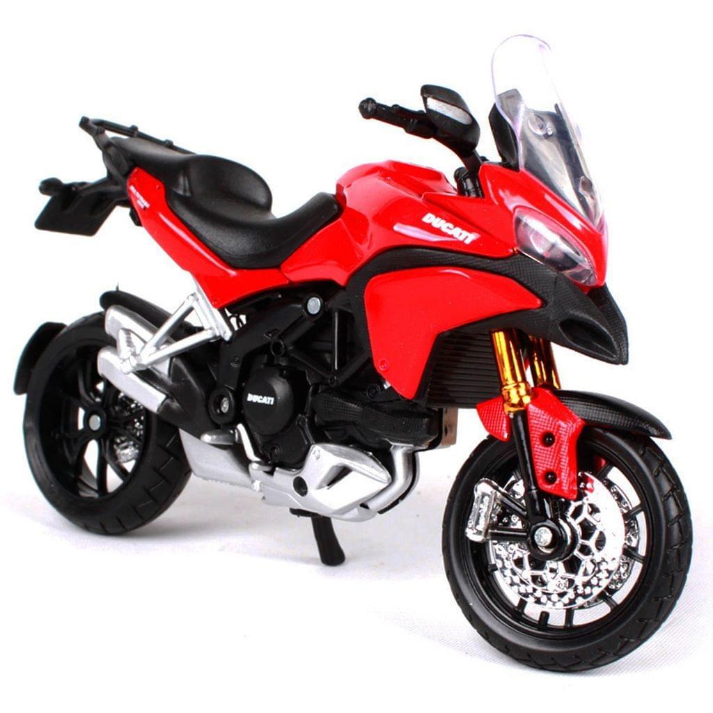 Maisto Ducati Multistrada 1200S, 1:12 Scale Die Cast Model Bike