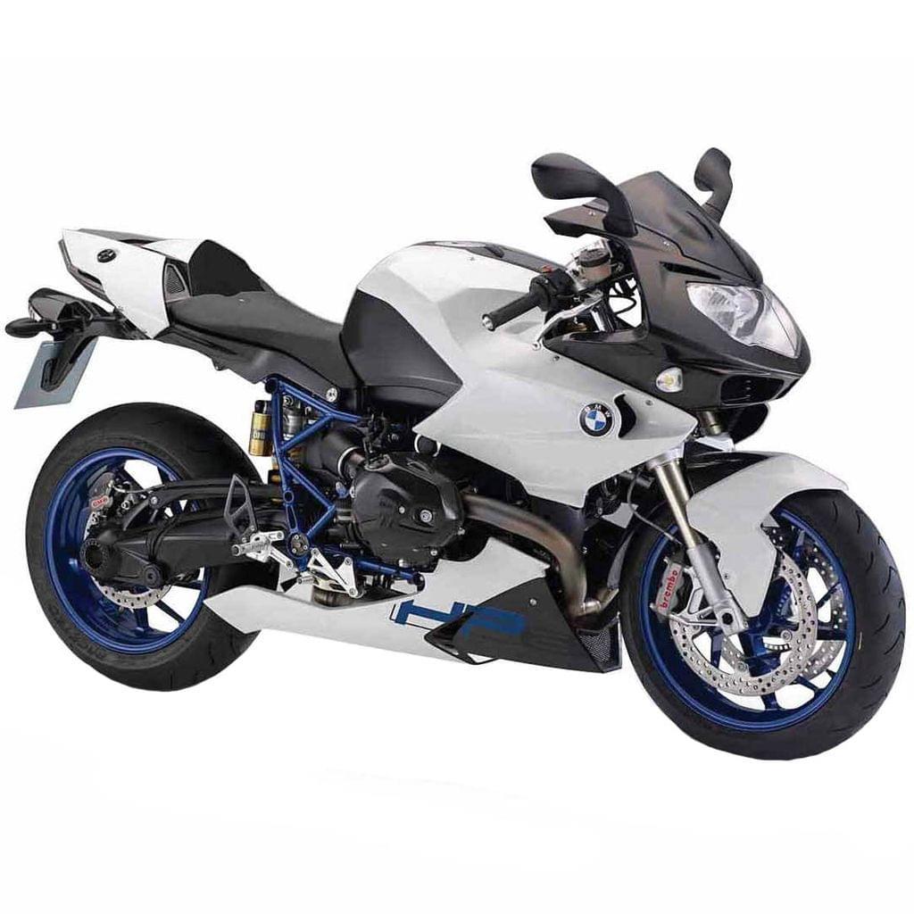 Maisto BMW HP2 Sport, 1:12 Scale Die Cast Model Bike