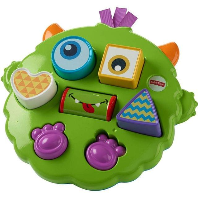 Fisher Price Silly Sortin Monster Puzzle Multi Color