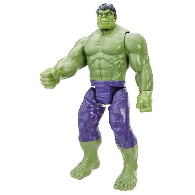 Marvel Avengers Titan Hero Series 12 Inch Hulk, Action Figure Multi Color