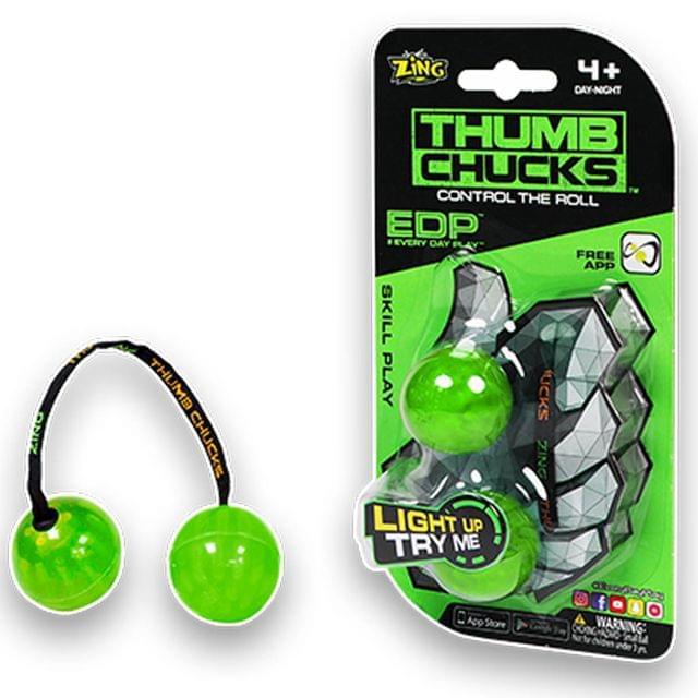 Zing Thumb Chucks, Green Color