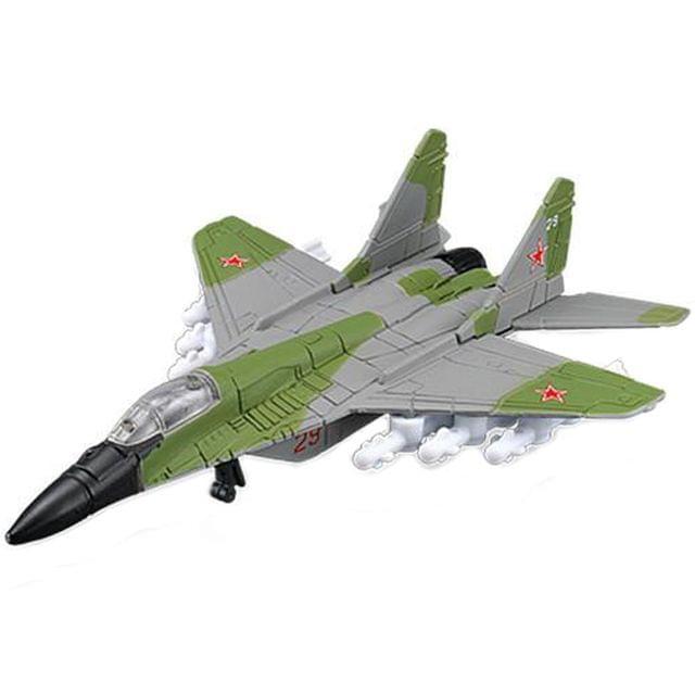 Maisto Tailwinds MIG-29 Fulcrum Diecast Aeroplane Toy Model (Green & Grey)