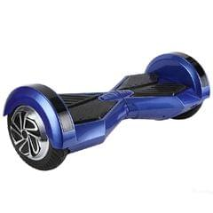Uboard Hybrid 6.5 Inch Electric Hover Board With LED Light And Bluetooth Speaker, Blue and Black Color