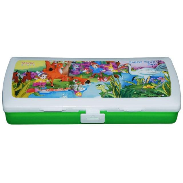 Myesha Home Magic Slate Pencil Box Multi Color