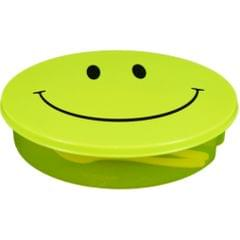 Myesha Home Round Transparent Lunch Box for Kids Multi Color